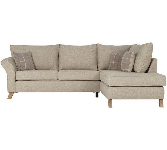 Buy Argos Home Kayla Right Corner Fabric Sofa Beige Sofas Beige Sofa Fabric Sofa Grey Corner Sofa