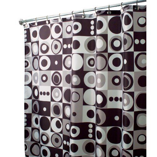 Extra Long Mod Square Shower Curtain 78 Inches Long A Full 6