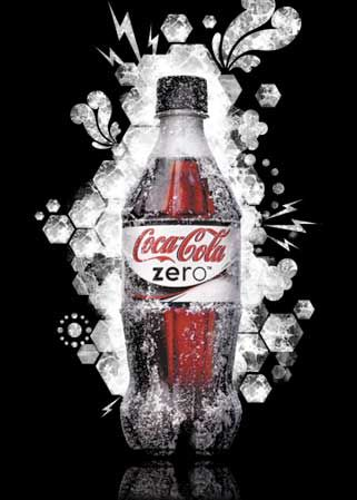 Frosty Coke Zero