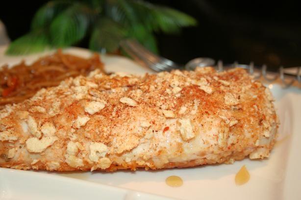 Mayo clinic healthy food recipes Honey Crusted Chicken Recipe Food Com Recipe Recipes Crusted Chicken Recipes Food