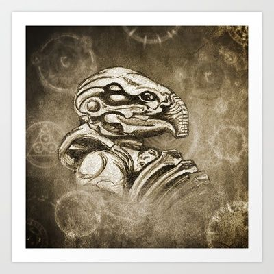 We are the creators.... and destroyers  Art Print by Matthew J Parsons - $15.00