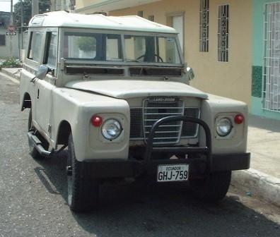 Vendo Jeep Land Rover Santana 80 Land Rover Jeep Land Rover Jeep