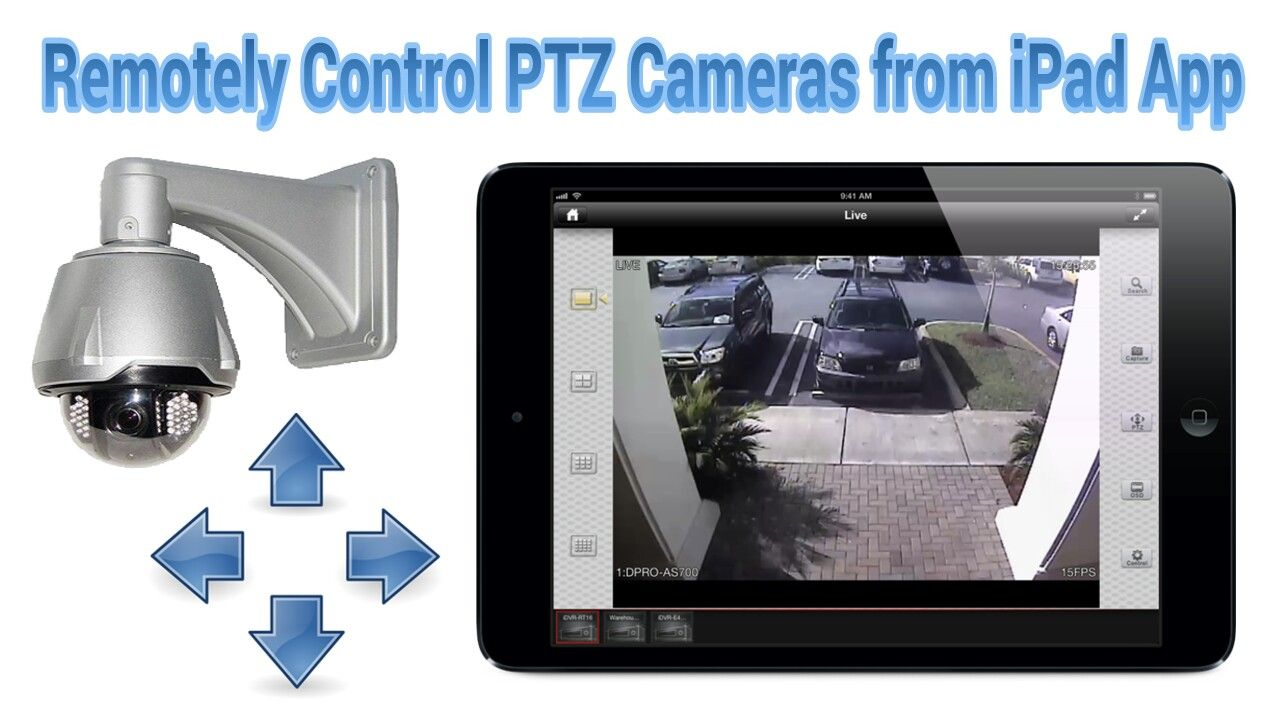 Pin By Cctv Camera Pros On Mobile Apps For Video Surveillance Ptz Camera Ipad Apps Ipad