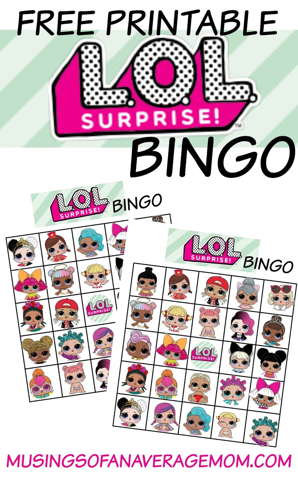 L.O.L. surprise cupcake toppers 2 | Party ideas | Pinterest ...