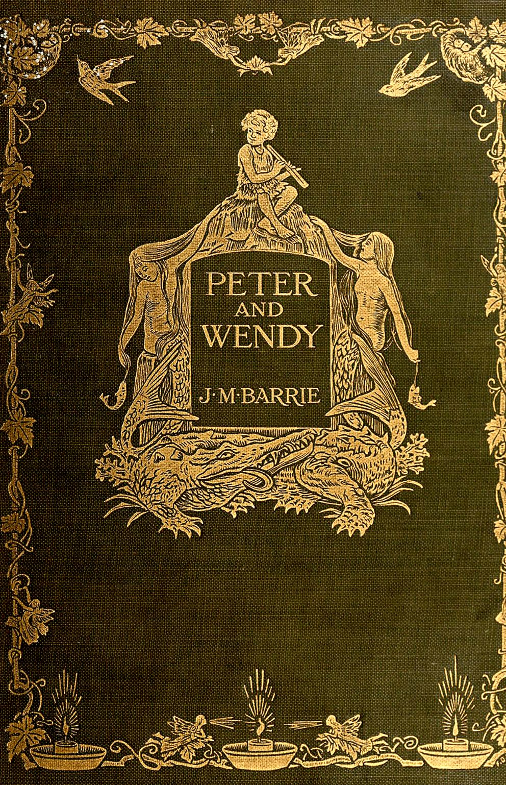 Peter and wendy by j m barrie charles scribners sons
