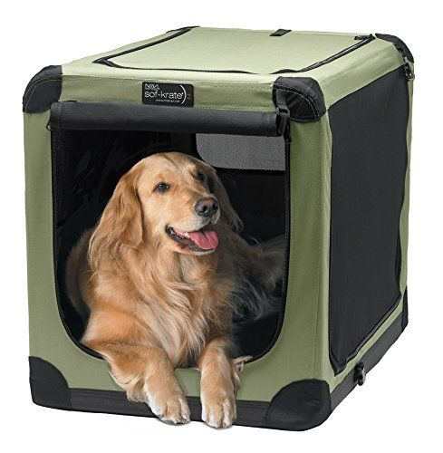 Durable Well Ventilated Pet Crate For Indoor Or Outdoor Use Made
