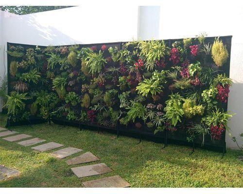Ideas de diseños para jardines verticales   Jardín vertical, Jardín ...