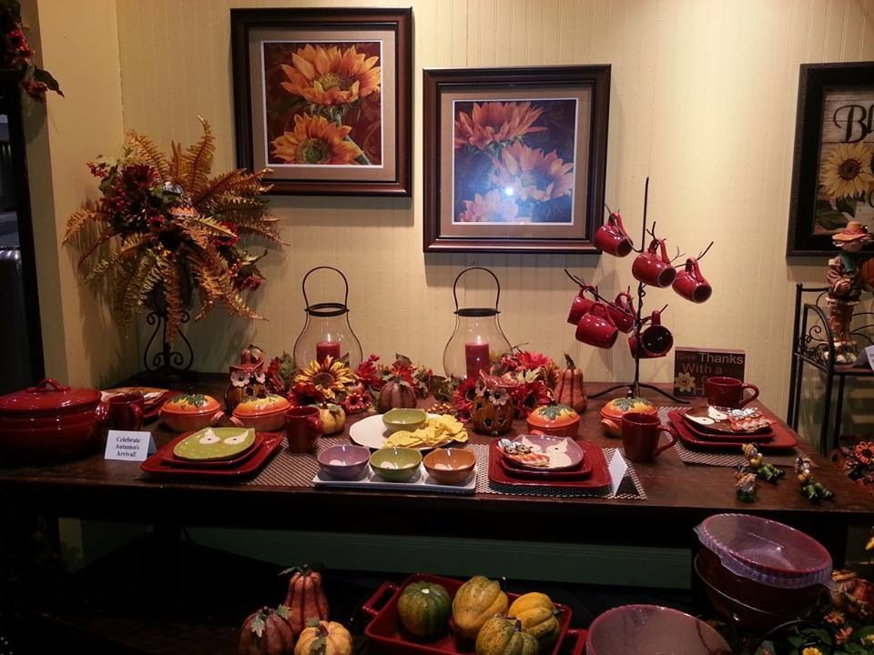 Beautiful Fall Table   New Fall Catalog Starts August 15th Click Here To  Shop!