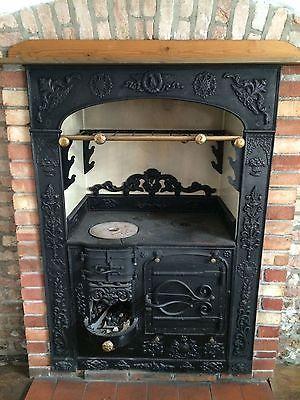 Victorian Cast Iron Cornish Range Cooker Stove Stove Shack Ideas Victorian