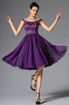 purple cocktail dress - Google Search | Mom Solo | Pinterest ...