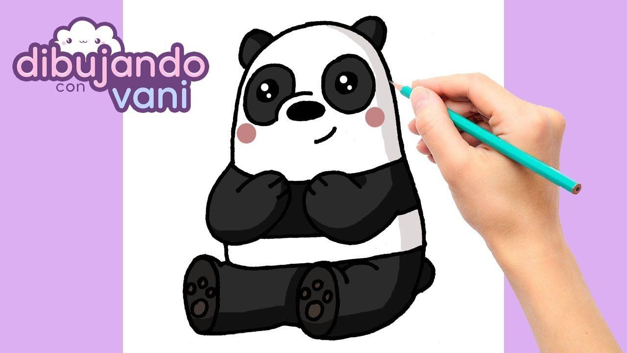 Como Dibujar A Panda De Escandalosos Paso A Paso Dibujos Para Dibujar Dibujo Paso A Paso Dibujos Kawaii Dibujos