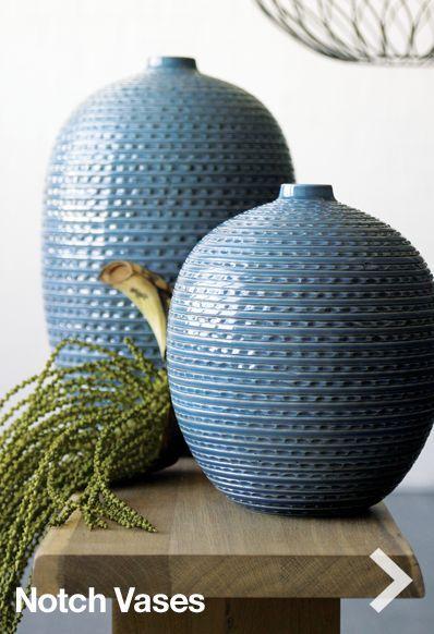 Blue Vase. I like the texture.