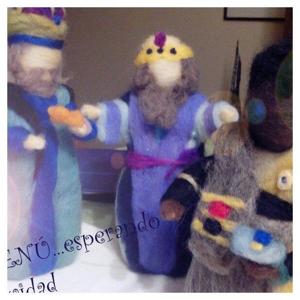 Reyes magos en vellon