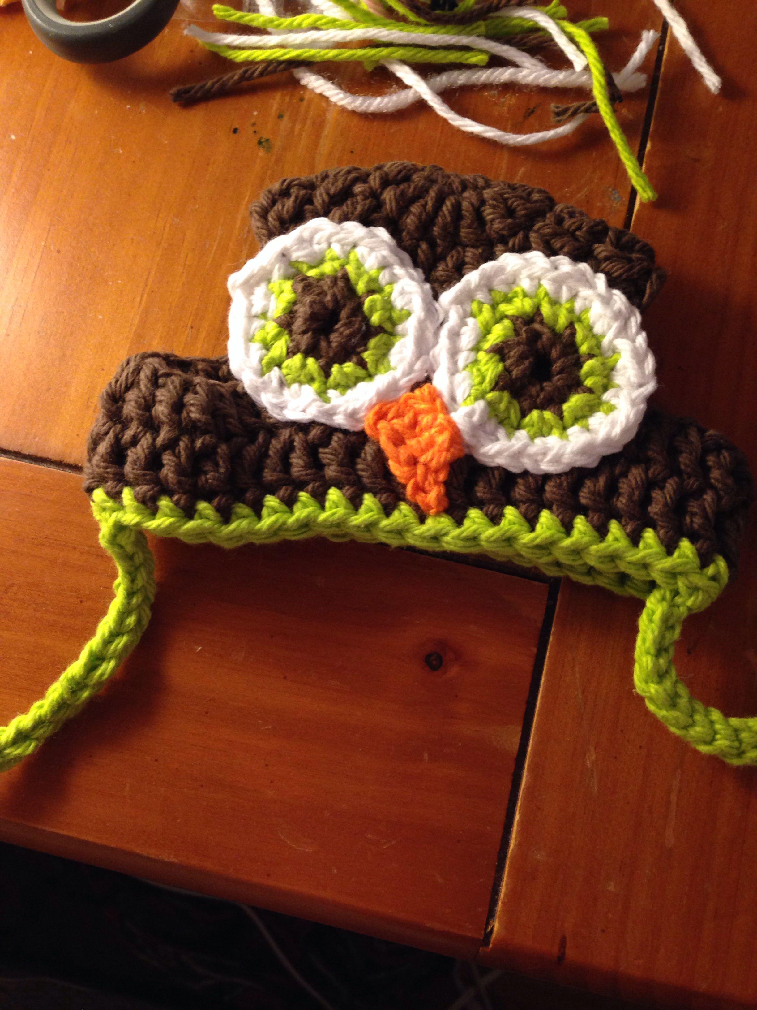 Crochet owl dog hat | Did It | Pinterest