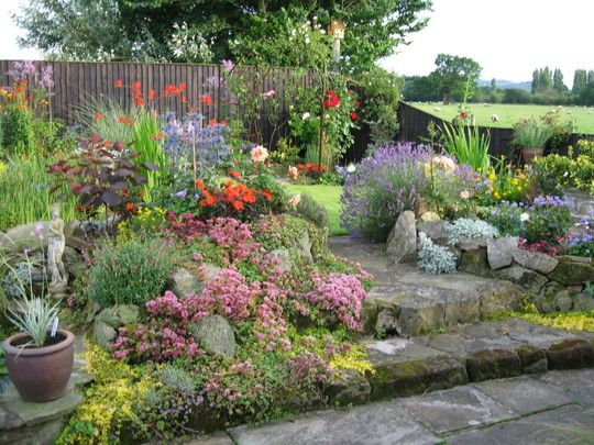 Dream cottage garden nature pinterest paisajismo for Paisajismo jardines rusticos