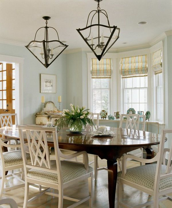 Nice White Painted Ideas For Antique Mahogany Dining