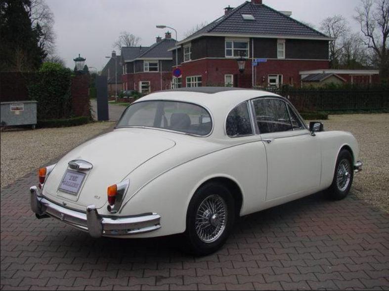 Jaguar MkII 2 Door Coupe!