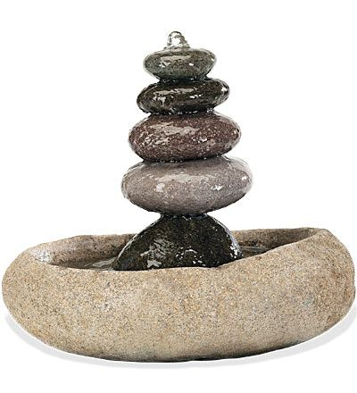 Five Stone Fountain Wind Stone Fountains Indoor Water Fountains Tabletop Fountain