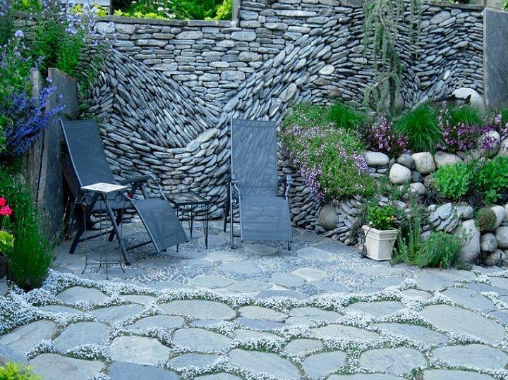 Téma - Oplotenie - kamenné ploty (inšpirácie, nápady) • www.stavba-az.sk