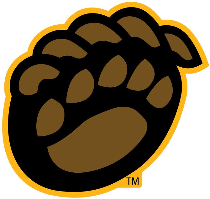 Teams With Bears Logo Black Bear Logo Baylor Bears Alternate Logo 2005 Brown Bear Paw Baylor Bear Bear Clipart Animal Logo