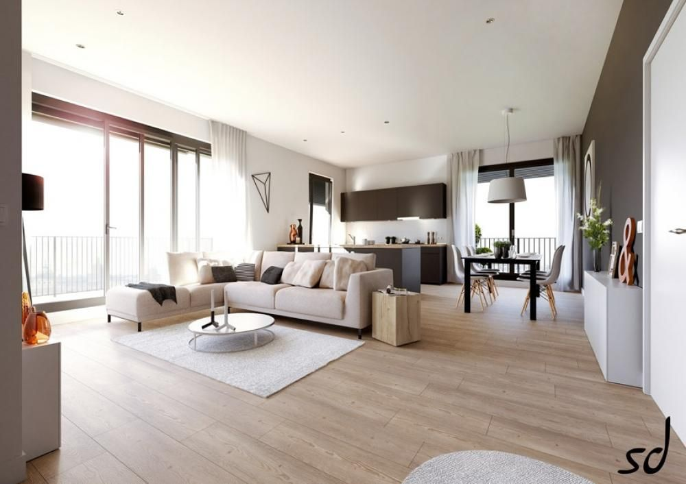An Open Plan Penthouse In Beirut Living Spaces Furniture Loft