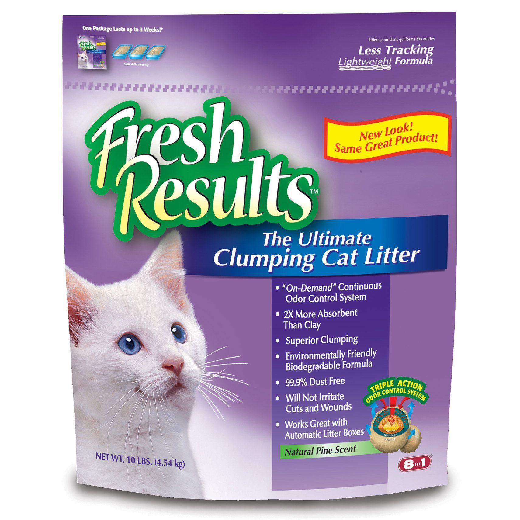 Fresh Results M1365 10 Lb Clumping Cat Litter Cat Litter Clumping