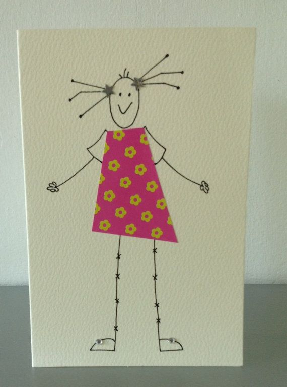 Hand made card by CassPaperDesigns via etsy