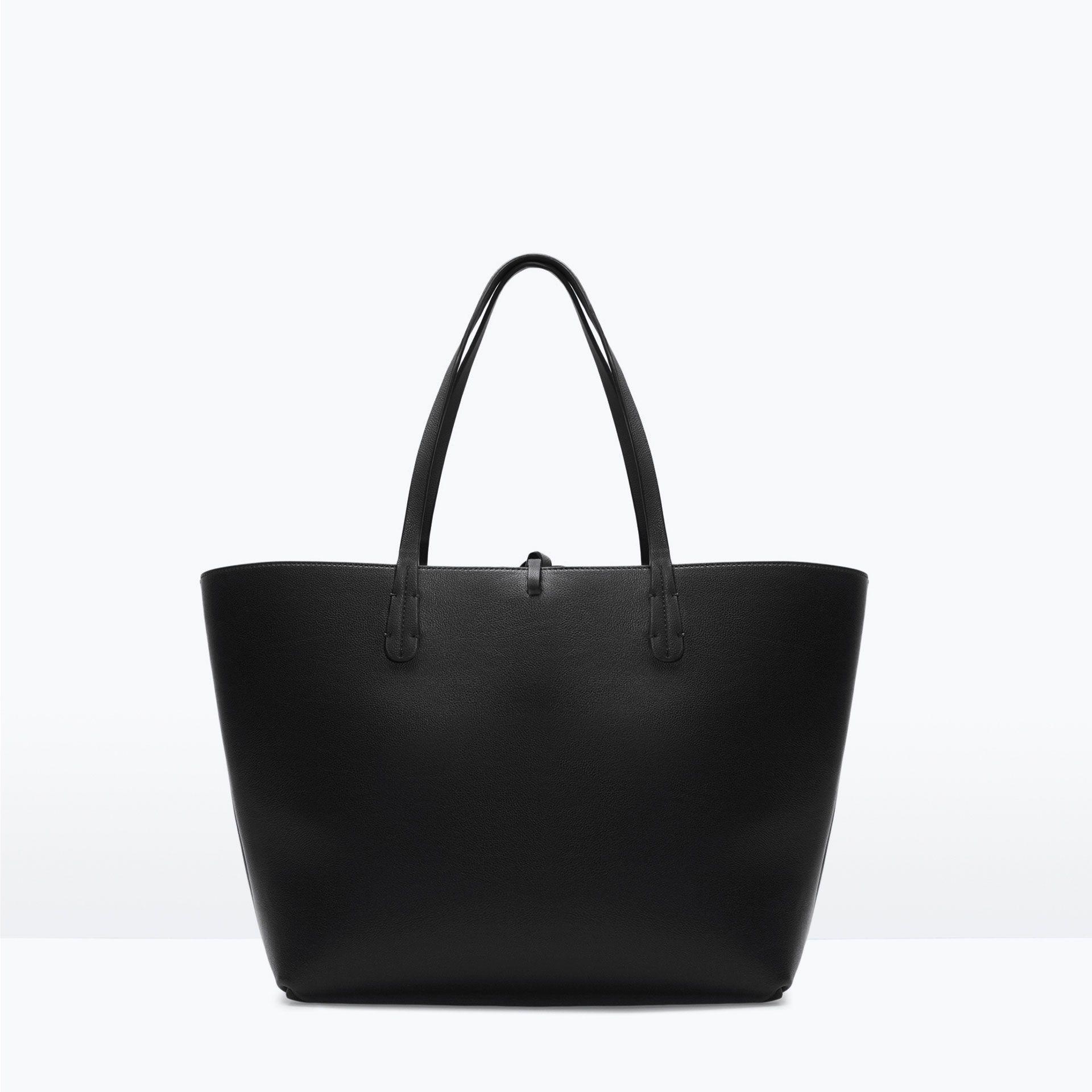 Reversible Contrast Per Handbags Woman Zara Canada Women S Bags Pinterest And Bag