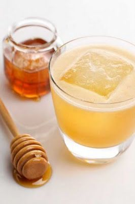 Rum. Honey. Lemon Juice