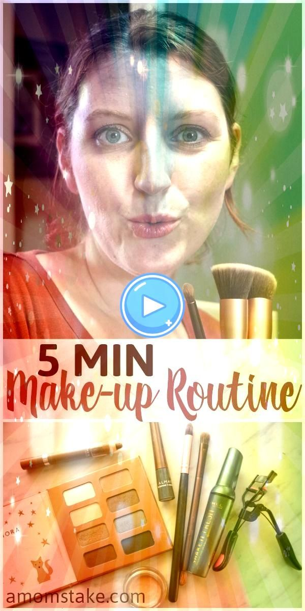 easy 5 minutes or less morning makeup routine can help you put you feel confident and pretty with minimal effort Try these beauty tricks and some of the products we useTh...