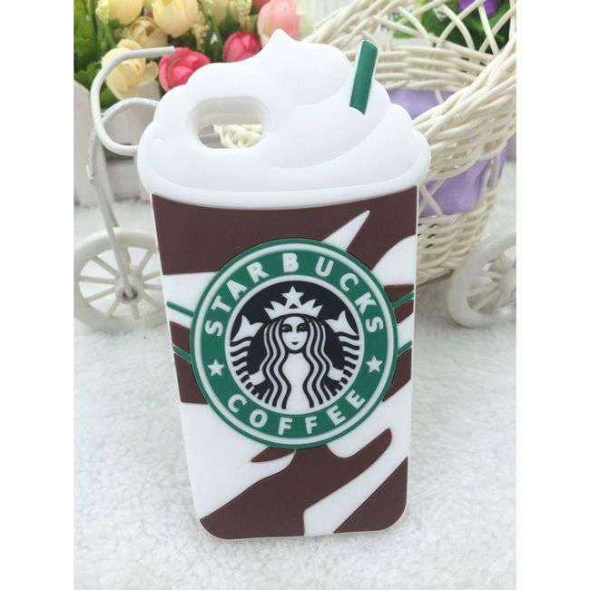 Details about 3D Starbucks Ice Cream Cup Soft Silicone Cover Case ...
