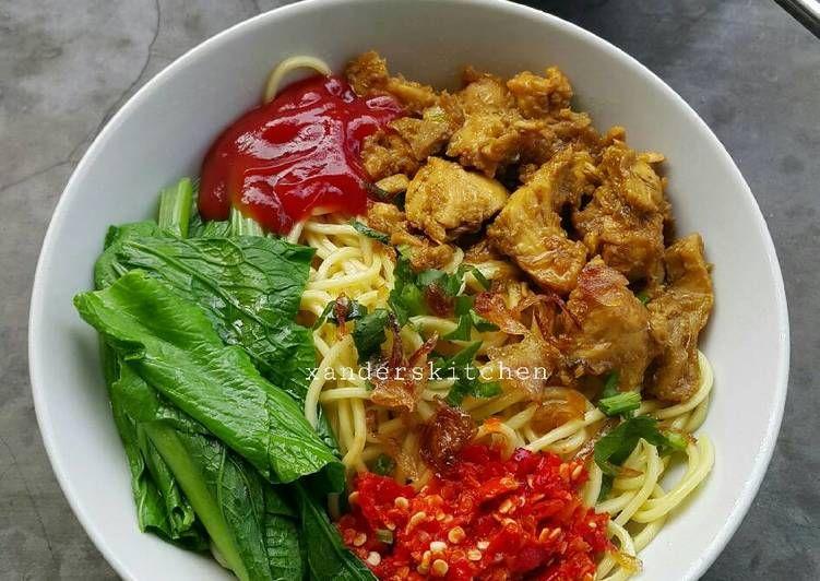 Resep Mie Ayam Abang Abang Enaakk Banget Oleh Xander S Kitchen Resep Resep Masakan Resep Ayam