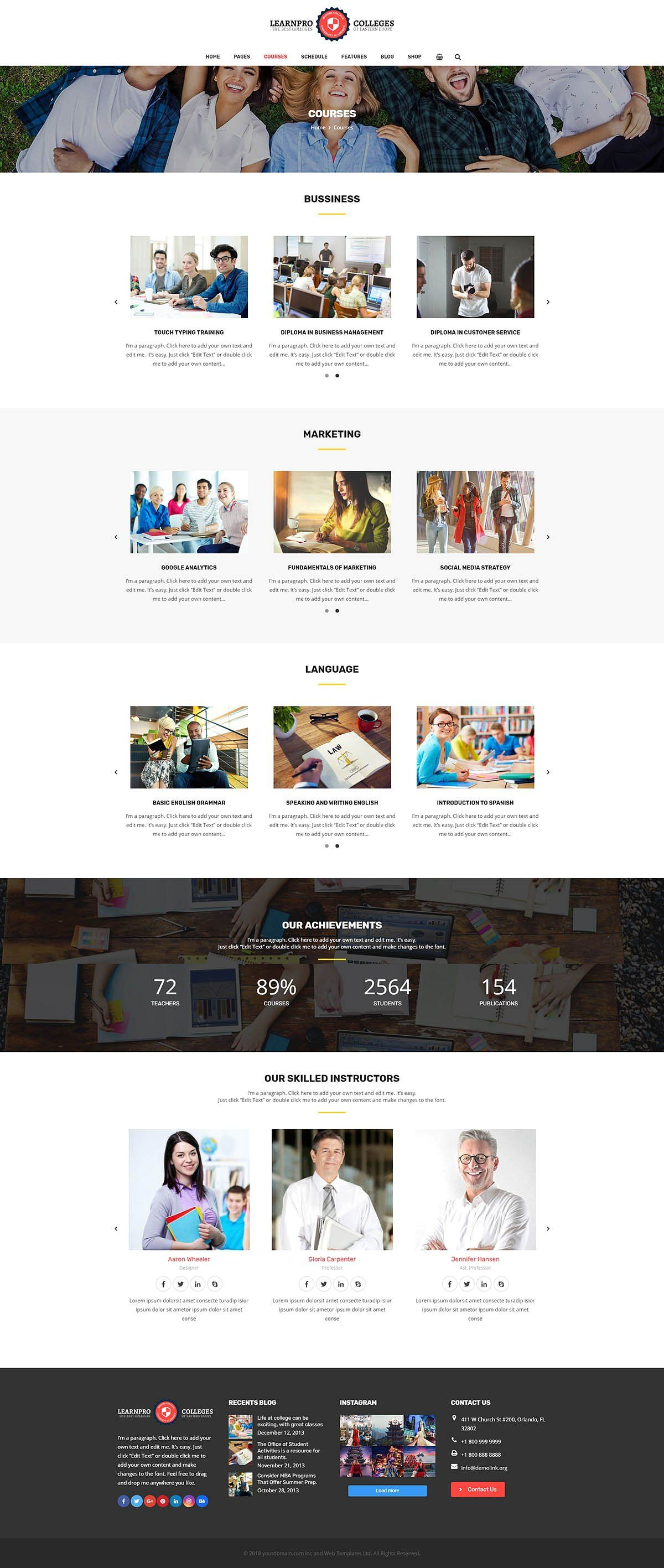 Learnpro - Education Courses Theme #line#touching#Display#code