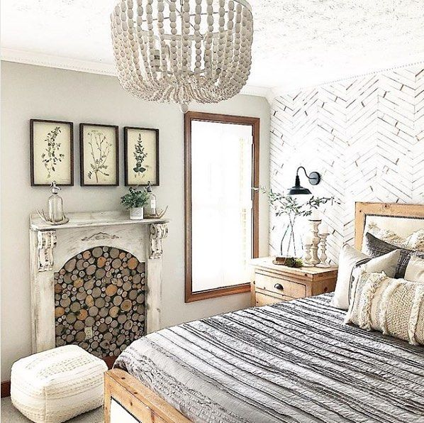 30 Small Yet Amazingly Cozy Master Bedroom Retreats: Isn't This Master Bedroom Gorgeous? We Love The Fireplace