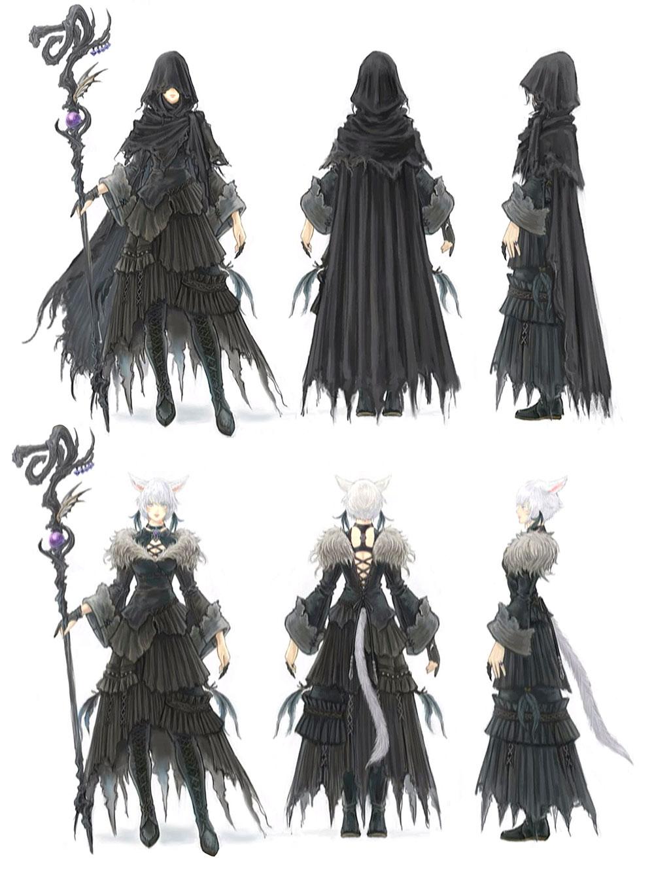 2019 的 Y'shtola Rhul Art - Final Fantasy XIV: Shadowbringers Art