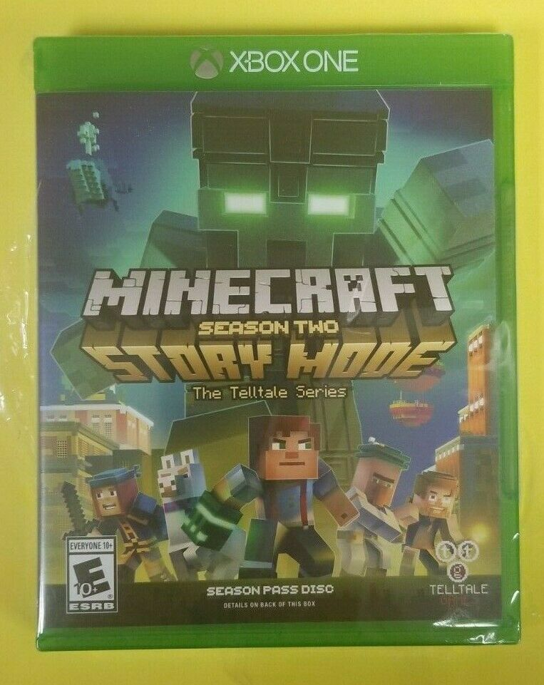 Minecraft Story Mode Season 2 Xbox One New Minecraft