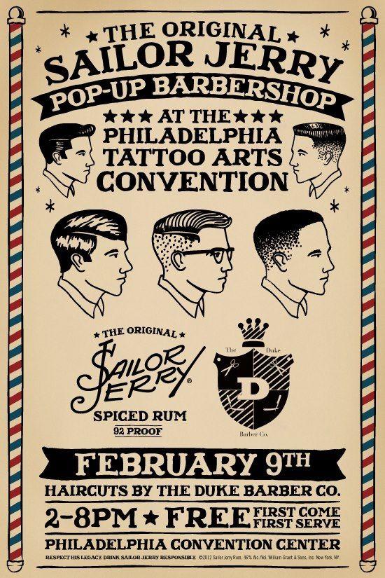 Sailor Haircut : sailor, haircut, Sailor, Jerry, Tattoos,, Jerry,, Barber, Tattoo