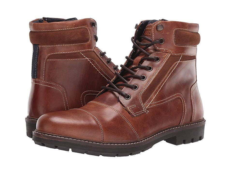 Steve Madden Juppiter Men S Boots Cognac In 2020 Boots