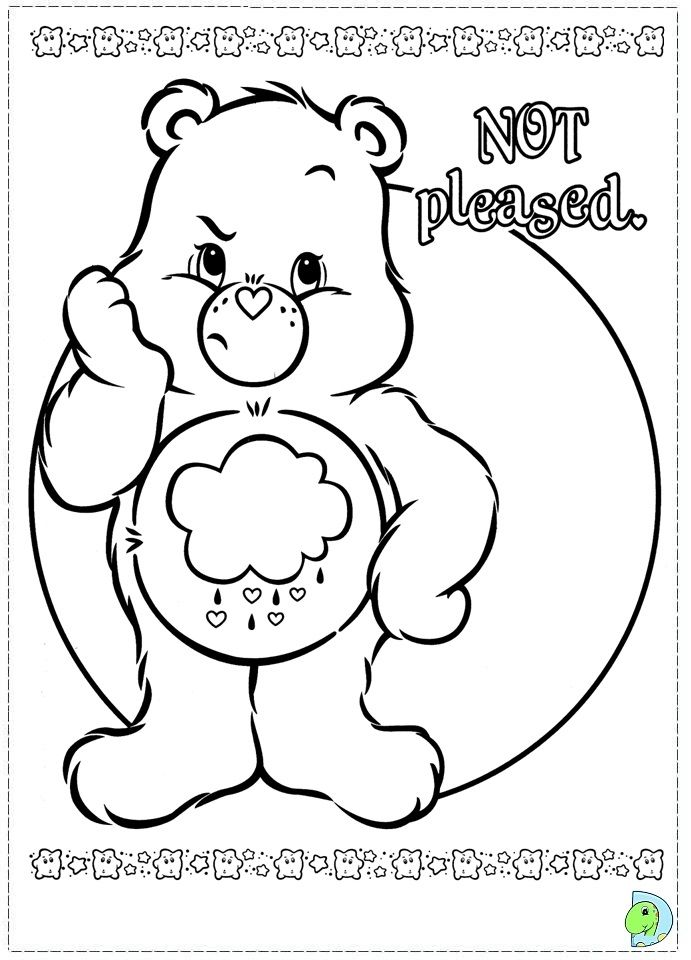Care Bears coloring page- DinoKids.org