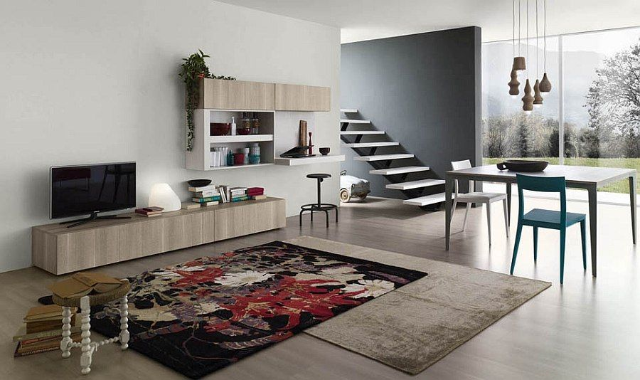 Customizable Living Room Wall Units With An Ecofriendly Touch Fair Living Room Cupboard Furniture Design Design Decoration