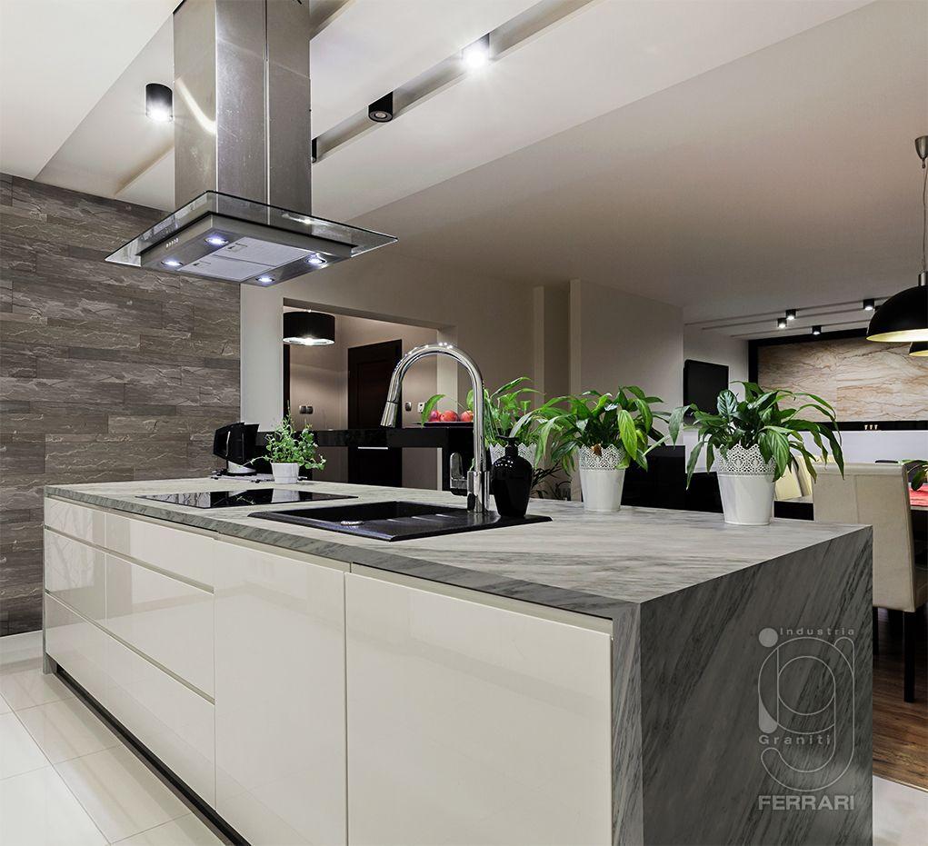 Marmo Di Carrara Cucina Nera Idee Di Interior Design Idee Per Interni