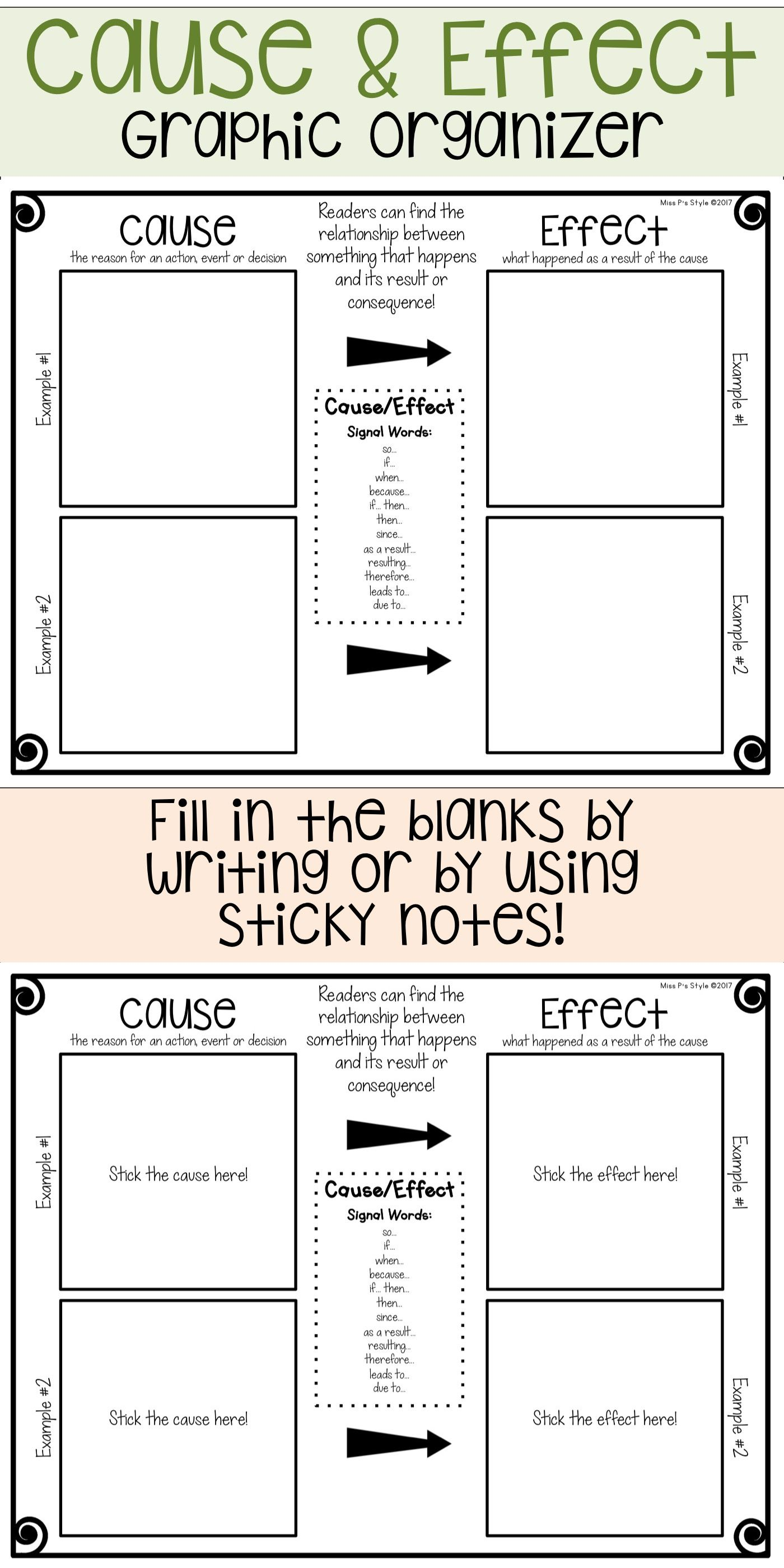 reading graphic organizers | tpt teaching creations | pinterest