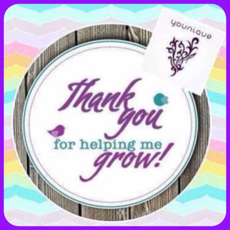 Thank You For Your Order Support Younique Clickimagetoshop