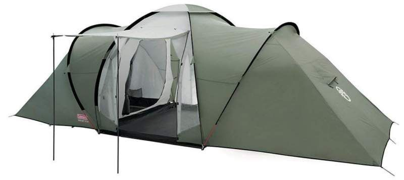 Coleman Ridgeline 6 Person Tent 3 Rooms In 2020 Family Tent Camping Camping Tent Lights Tent