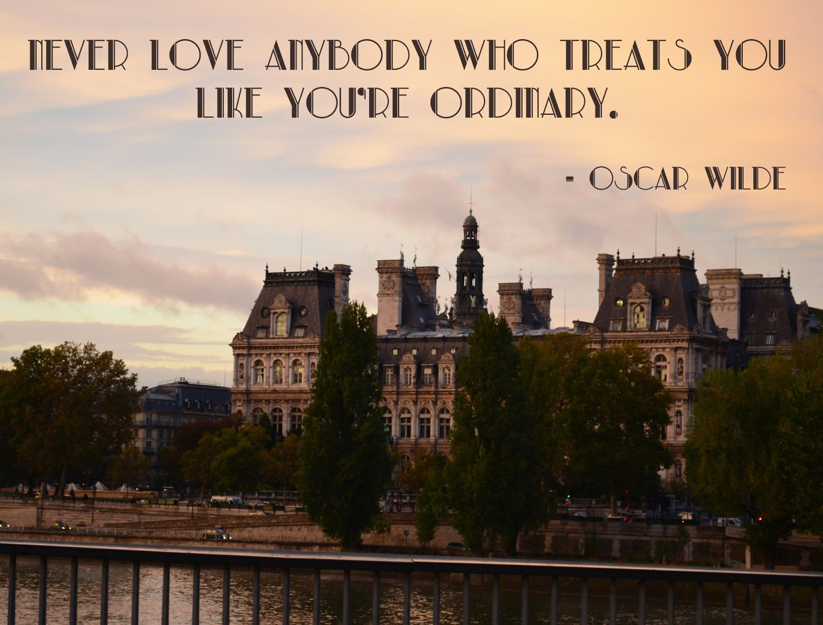 Paris   Oscar Wilde Quote