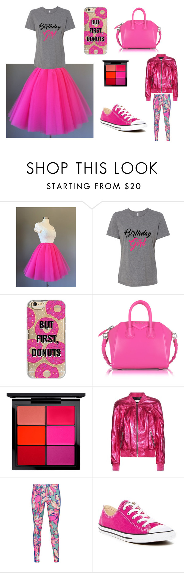 """Its My Birthday!!!!"" by mkauffman-1 ❤ liked on Polyvore featuring Agent 18, Givenchy, MAC Cosmetics, Yves Saint Laurent, adidas Originals, Converse and birthdayonelectiondaystinks"