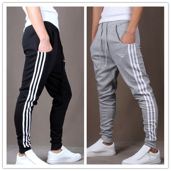 3c6ad25ad587 Outdoors Cargo Loose Trousers Men Sweat Harem Sport Joggers Pants Hip Hop  Slim Fit Sweatpants for Dance Sports Pants YL850794