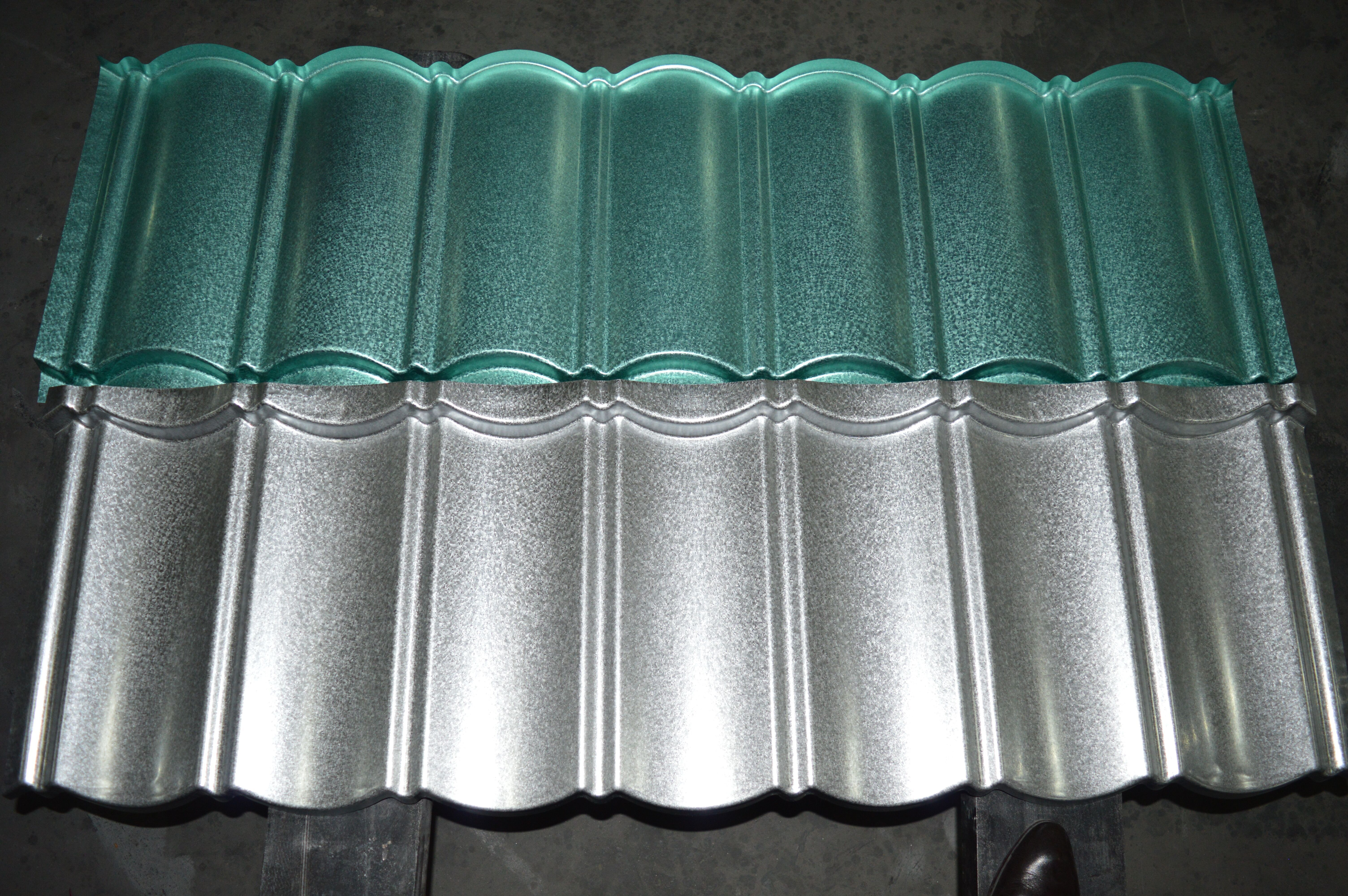 Pin On Cailin Stone Coated Steel Metal Roof Tiles