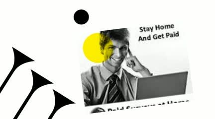 The Big Chance is in Your Hand: Get paid for taking online surveys at home.
