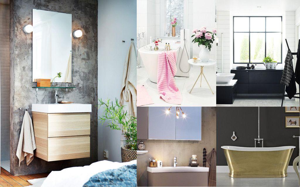 Underbara badrum: 5 stilar